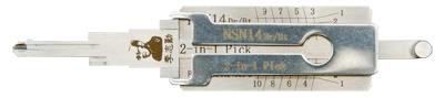 NSN14 Dr/Bt Original Lishi Tool