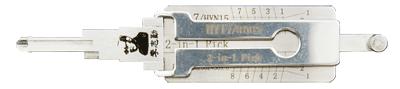 HY15/HYN17 Original Lishi Tool